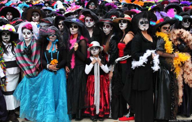 Cadılar Bayramı Değil Ölüler Günü Festivali!