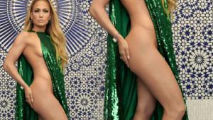 Jennifer Lopez'in Dekoltenin Sınırlarını Zorladığı Pozu Yaşıtlarına İlham Oldu!
