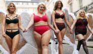 Büyük Beden Model Olmaz Diyenlere İnat, İç Çamaşırlarıyla Sokağı Fethettiler