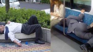 Zaman, Mekan Fark Etmeden Diledikleri Yerde Uyuyan İnsan Manzaraları