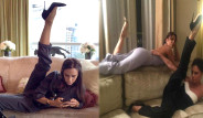 Victoria Beckham'ın Pozu Ünlüler Arasında Viral Oldu