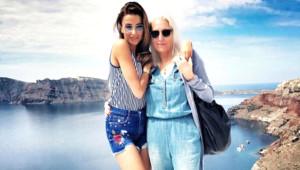 Oyuncu Selma Ergeç ile Alman Annesi Görüntülendi! İşte Ünlülerin Anneleri