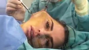 Ünlü Yıldız Yüz Gerdirme Ameliyatından Video Paylaştı! Doktoruyla Sohbet Etti