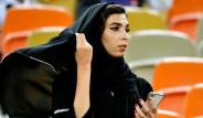 Arabistanlı Kadın Taraftarlar Juventus-Milan Maçına Damga Vurdu