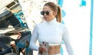 Ünlü Şarkıcı Jennifer Lopez, Spor Stiliyle Miami'yi Salladı!
