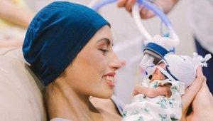 Kanser Hastası Kadın, Bebeği İçin Kendi Canını Hiçe Saydı!