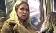 Dünyanın En Zengin Ailesine Sahip Olan Nicky Hilton, Metroda Görüntülendi!