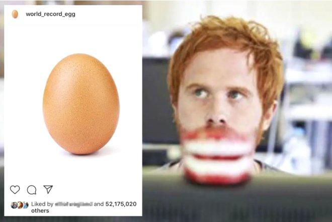 Instagram'ın Beğeni Rekoru Kıran Fenomen Yumurtasının Kimliği Ortaya Çıktı