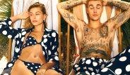 Justin Bieber Ve Hailey Baldvin'in Cesur Pozları Olay Oldu!