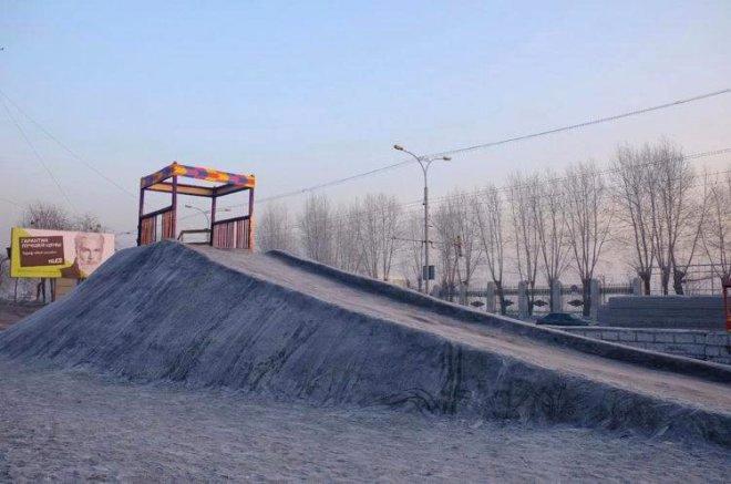 Sibirya'ya Siyah Kar Yağdı, Görenler Şaşkına Döndü