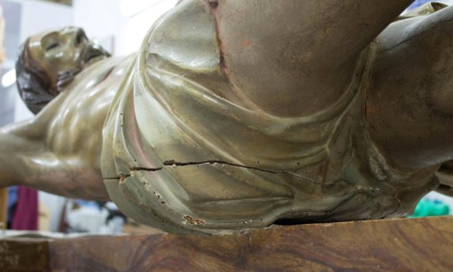 İsa Peyğəmbərin 300 illik heykəlində sirli məktub — FOTOLAR