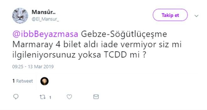Gebze-Halkalı Banliyö Hattındaki Ücretlendirme Hatası Twitter'ı Ayağa Kaldırdı