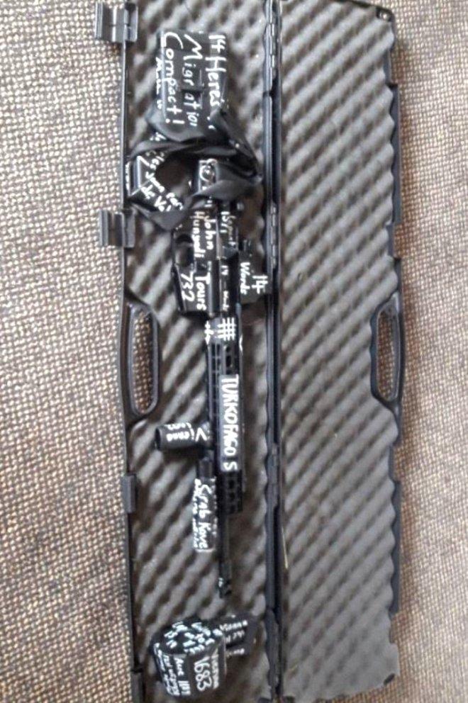 Yeni Zelanda'da Camilere Dalıp Onlarca Kişiyi Katleden Teröristin Silah Analizi