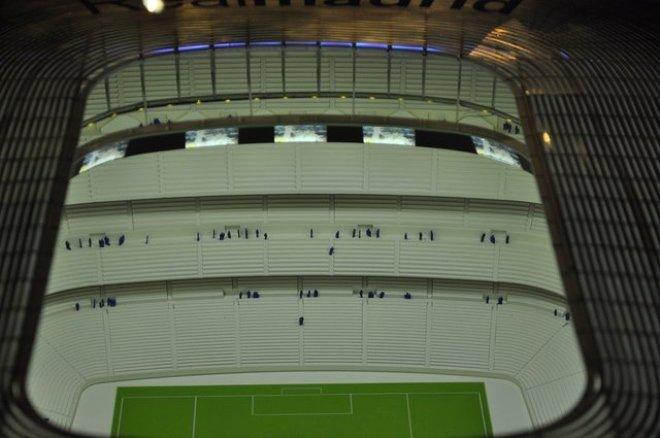 İşte Real Madrid'in 360 Derece Ekranla Kaplı Dijital Stadyumu!