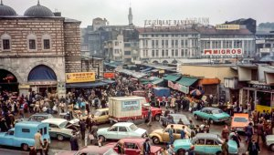 41 Sene Önce Bile Vızır Vızırdı! Sizce Burası İstanbul'un Hangi Semti