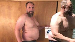 Çocuklarıyla Vakit Geçirmek İçin 41 Kilo Verdi! Son Halini Görenler Gözlerine İnanamadı