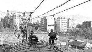 İstanbul'un Nadide Semtinde Telesiyej Keyfi! 59 Yıl Önce Çekildi!