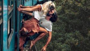Instagram Fenomeni Çiftin, Cesur Pozu Sosyal Medyada Olay Oldu!