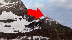 İsviçre Alpleri'nin Zirvesinde Ne Olduğunu Gören Şoke Oluyor!