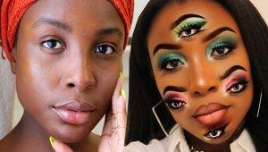 Makyaj Artistinin Baş Döndüren İllüzyonu Sosyal Medyayı Sallıyor!