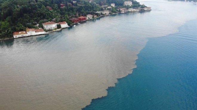 Şiddetli Yağış Sonrası İstanbul Boğazı'nda Korkutan Görüntü