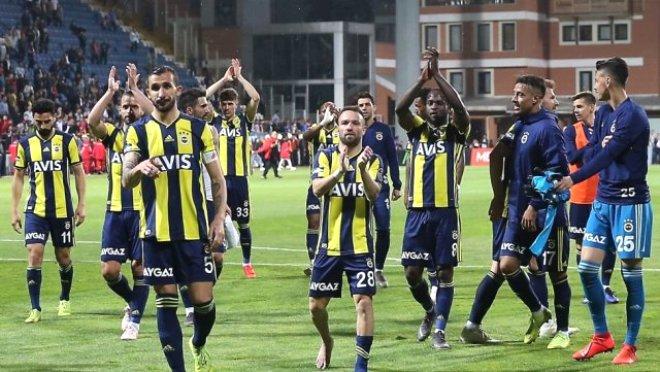 Fenerbahçe listede yok!