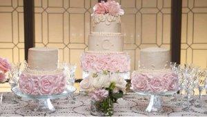 Galeri: En güzel düğün pastaları