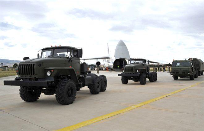 Bakanlık paylaştı! İşte S-400 teslimatından ilk kareler
