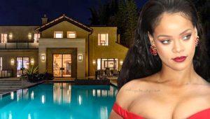 Rihanna Hollywood'da bulunan lüks villasını, 200 bin lira karşılığında kiraya verdi!
