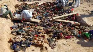 Saddam döneminde katledilmişlerdi! Toplu mezar 16 yıl sonra ortaya çıktı
