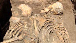 Eskişehir'de yapılan arkeolojik kazılarda 5 bin yıllık insan iskeletleri bulundu!