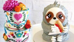 İlmek ilmek işlediği pastalarla sanat eseri ortaya çıkardı!