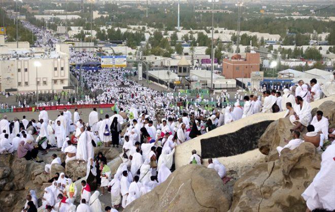 80 bini Türk, 3 milyon hacı adayı Arafat'ta!