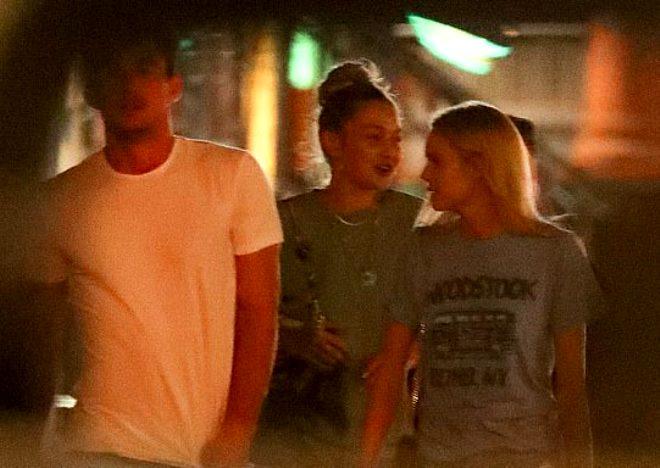Gigi, Zayn'ı çabuk unuttu! Yeni sevgilisiyle böyle görüntülendi