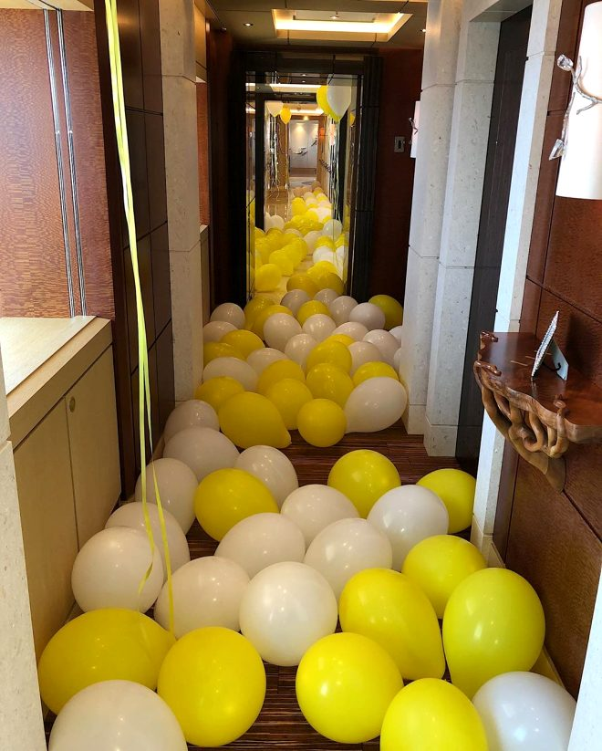Böyle doğum günü görülmedi! Kylie Jenner, 22. yaşını 250 milyon dolarlık yatta kutladı!