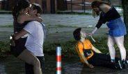 Üniversite sınav sonuçları açıklanan binlerce öğrenci, kendilerini sokaklara attı! Eğlencenin dozu fena kaçtı
