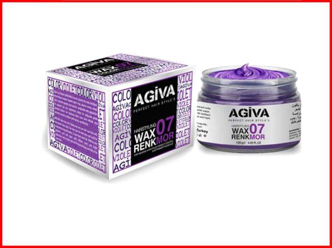 Agiva Hair Pigment Wax 07 Color Violet / Kozmotek Pazarlama Kozmetik İth. İhr. San Ve Tic. Ltd. Şti.