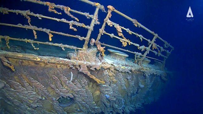 107 yıl önce batan Titanic'in son hali şoke ediyor! Resmen eridi