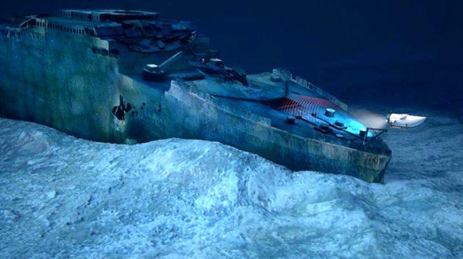Titanic yok oluyor!