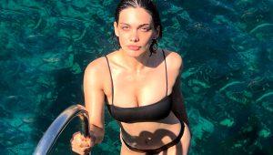 Güzel oyuncu Beste Kökdemir, tatil pozlarıyla nefes kesti!