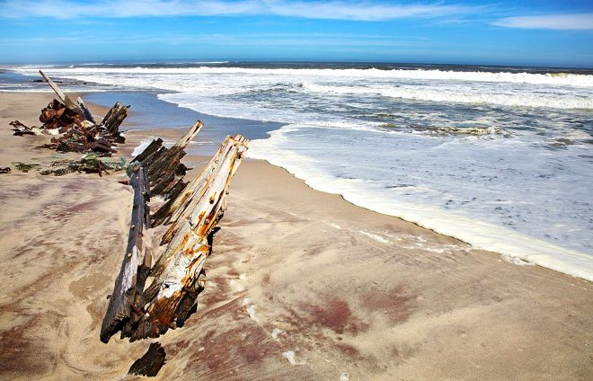 İskelet sahili, Namibya