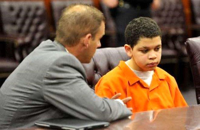 Henüz 13 yaşında müebbet hapis cezası aldı! Nedeni kan donduruyor