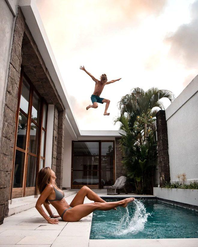 Risk tutkunu fenomen çiftin fotoğraflarına tepki yağıyor!