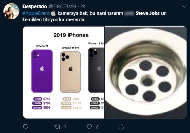 Apple'ın yeni iPhone 11 tasarımları Twitter'ın diline düştü!