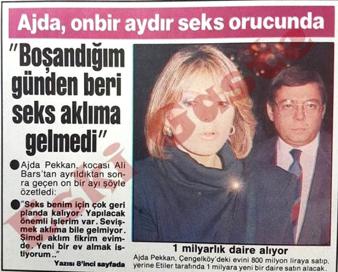 Ajda Pekkan'ın cinsel ilişki itirafı olay oldu! İşte ünlülerin akıllara durgunluk veren gafları