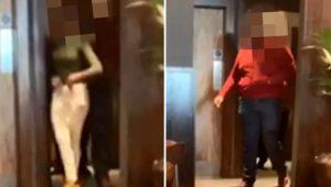 Ünlü tavuk restoranında skandal! Arsız çift tuvalette cinsel ilişkiye girdi