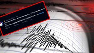 İstanbul'da 5.8 büyüklüğünde deprem oldu, Twitter alemi boş durmadı!