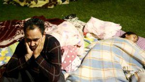 İstanbul'da deprem paniği! Korkan vatandaşlar parklara akın etti