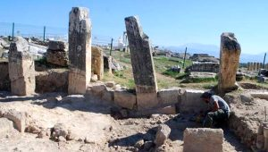 Tam bin 800 yıl önce depreme karşı kullanmışlar! Denizli'de ortaya çıktı