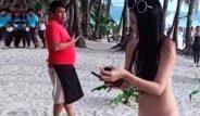 Turizm cennetinde skandal! Giydiği bikini yüzünden gözaltına alındı